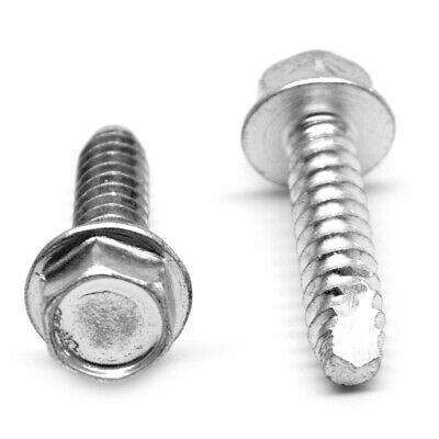 Small Parts 1440AW Type A Pack of 800 2-1//2 Length Hex Washer Head #14-10 Thread Size Pack of 800 Zinc Plated Steel Sheet Metal Screw 2-1//2 Length Hex Drive
