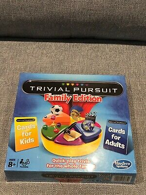 trivial pursuit family edition Hasbro 2014
