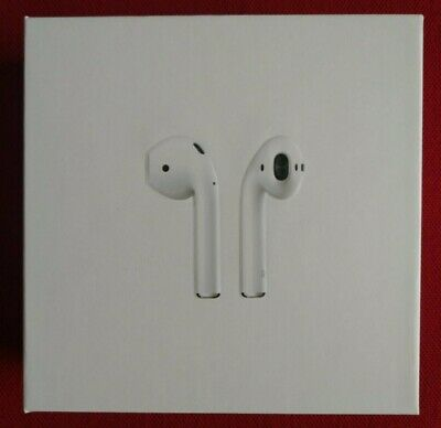 Apple AirPods 2nd Generation with Wireless Charging Case White