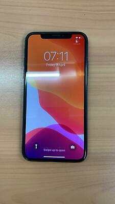 Apple Iphone X 64Gb Unlocked Black