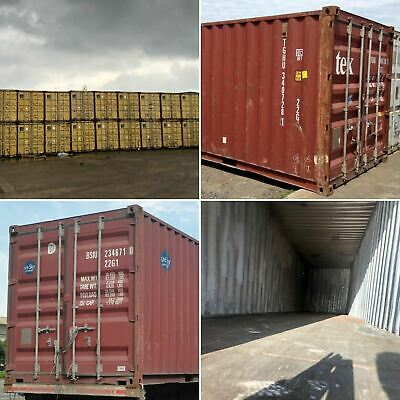 20ft & 40ft Used Wind & Watertight Shipping Containers ** Oakland ** Best Price!
