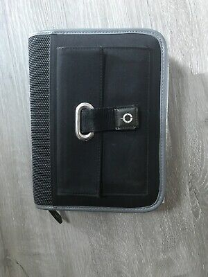 Franklin planner Black Compact Size With zipper Some Refills Included