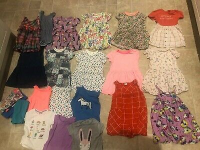 Next Girls 3-4 Summer Bundle Dressss Playsuits Tops Leggings