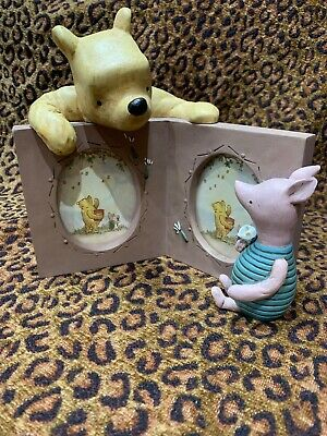 Winnie The Pooh And Piglet Double Photo Frame Disney Michel & Co