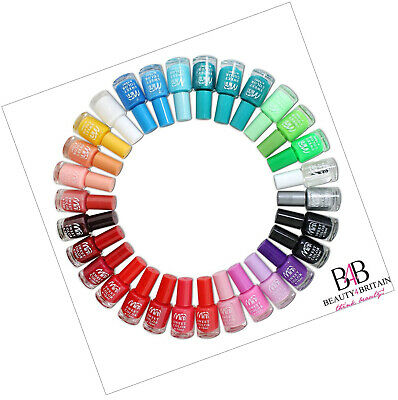 24 x Nail Polish for Artificial Nails 22 Different Bright Vivid Colours 7 ml