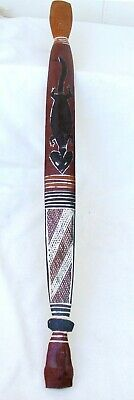 Traditional Australian Aboriginal Hunting Woomera / Spear thrower with Toggle