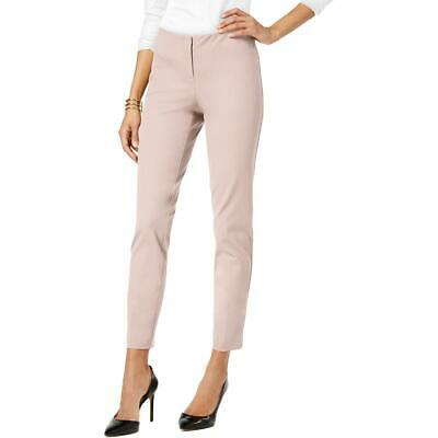 Alfani Womens Pink Skinny Ankle Office Wear Dress Pants Trousers 14 BHFO 3098