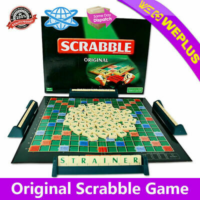 Original Scrabble Board Game for Family Adults Kids Educational Toys Puzzle Game