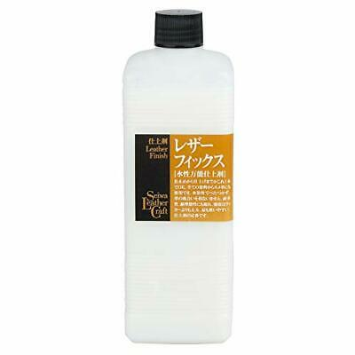 Seiwa Leathercraft Water Based Leather Lacquer for a Glossy Varnish Finish 500ml