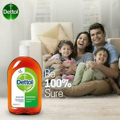 Dettol Antiseptic Disinfectant liquid for First aid 60ml (3 pack)