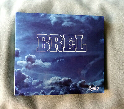 CD DIGIPACK JACQUES BREL *Les Marquises* Barclay 1977/‎2003 + Livret Paroles TBE