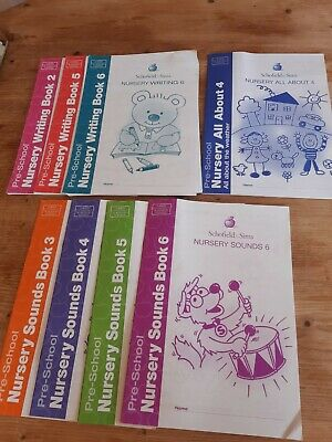 Nursery Pre-school Workbooks Reading And Writing Learning education