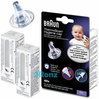 Braun ThermoScan Hygiene Cap LF40 (40pcs / box) for Ear Thermometer IRT6520 etc.