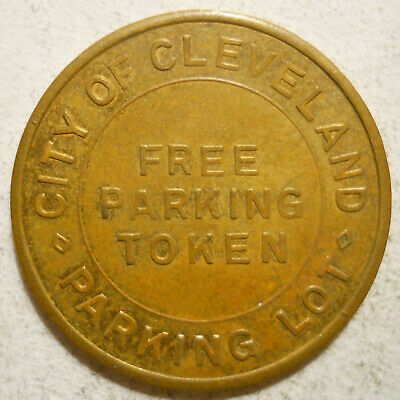 Pleasant Gate Bus. & Prof. Assoc. (Cleveland, Ohio) parking token - OH3175H