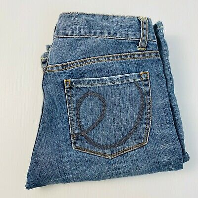 Witchery Ladies Fade Boot Cut Blue Denim Jean Size 10
