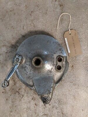 1971 Honda CB450 CL450 CB CL 450 K DOHC rear drum brake plate. Working