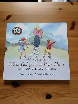 We're Going On A Bear Hunt 25th Anniversary Special Boxed Edition