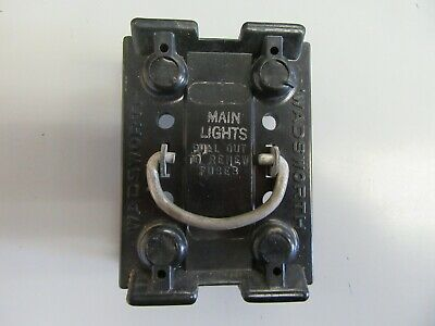 Fuse Pullout Block Cartridge Fuse Style  Wadsworth Main Lights