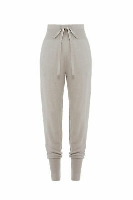 Josie Natori Women's Pants Gray Size XS Stretch Drawstring Tapered $110- #833