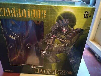 New Warbotron Transformers Bruticus WB01B Heavy Noisy Brawl Figure In Stock