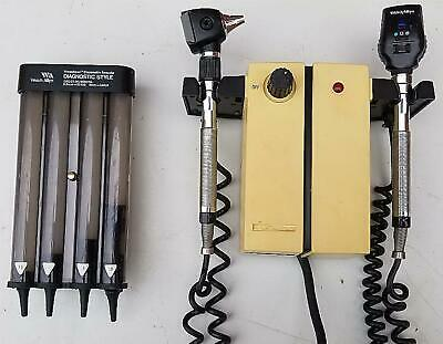 Welch Allyn 74710 Series Transformer Otoscope25020 Ophthalmoscope 11720 Freeship