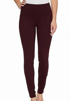 JAG Jeans Women's Red Size 2 Pull On Skinny Ponte Knit Pants Stretch $74 #665