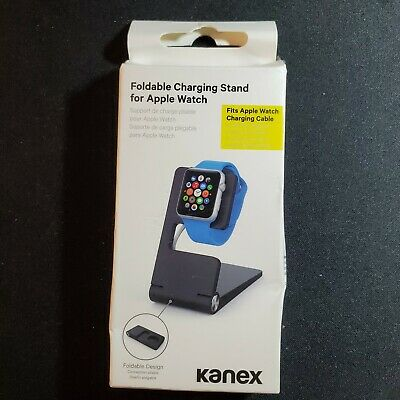 Kanex Foldable Charging Stand for Apple Watch Series Black