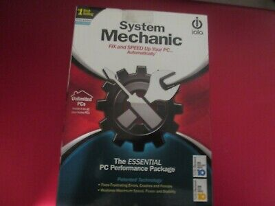 """Software """"System Mechanic"""" Brand New in sealed box"""