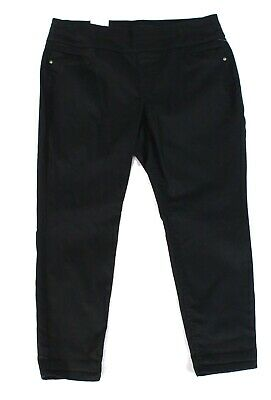 Style & Co. Women's Pants Black Size 14W Plus Pull-On Ankle Stretch $56 #011