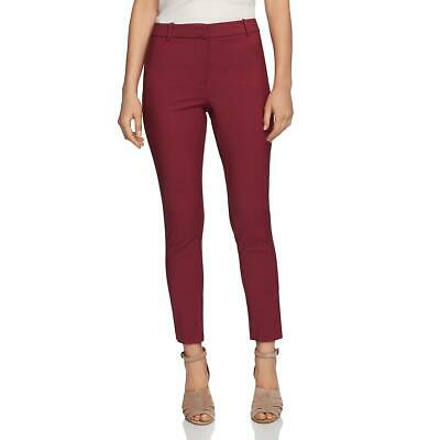 1.State Womens Pink Ankle Slim Leg Business Dress Pants Trousers 6 BHFO 7786