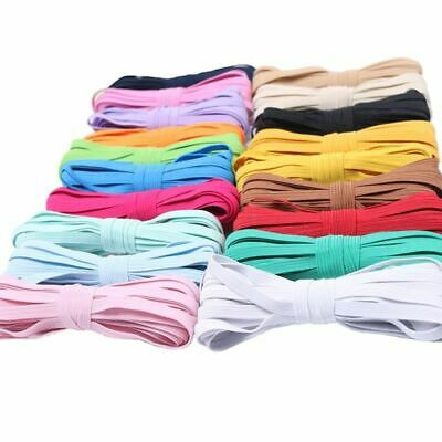 Colorful High Elastic Round Bands 6mm Rope Rubber Band Line Spandex Sewing Diy