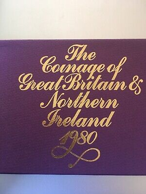 Coinage of Gt Britain & N.Ireland 1980 Proof Set