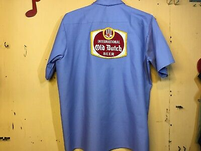 International Old Dutch Beer Delivery Guy Work Shirt Red Kap Xxl 🍺 🍺 🍺 🍺 🍺