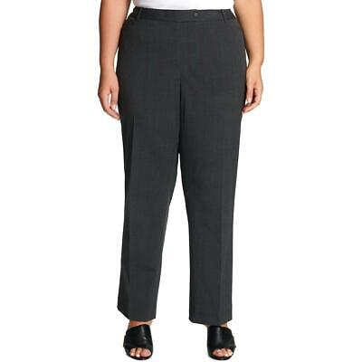 Calvin Klein Womens Gray Lined Modern Fit Pants Trousers Plus 14W BHFO 4858