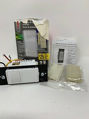 Legrand Pass &amp Seymour Radiant RRW600UTCCCV4 Single Pole/3-Way Open Box