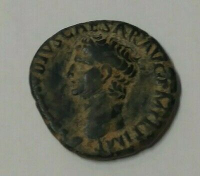 Claudius Ancient Roman Coin AS  Minerva Beautiful Desert Patina 25mm Rome Mint