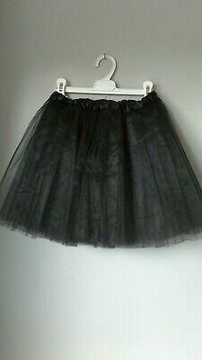 TUTU Girls Black Skirt Age 5 To 6 Years NEW 3 Layer Tulle