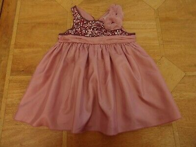 Girls Next Signature Pink Sleeveless Floaty Blouse Top Sequins - Age 5