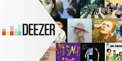 Deezer Premium Family plan for 3 months ♫ (Not shared/6 Users) Worldwide