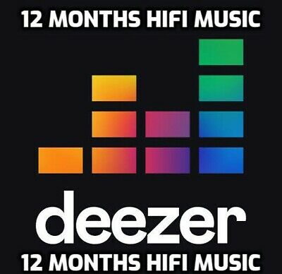 Deezer Hifi 12 Months (GLOBAL)