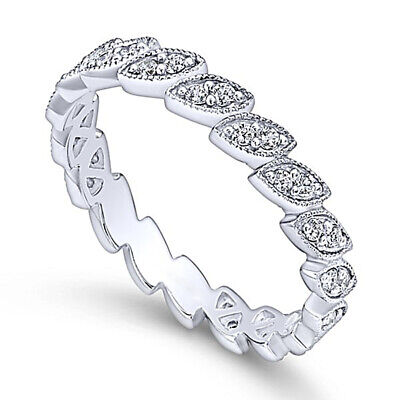 Elegant Silver Jewelry for Women White Sapphire Wedding Engagement Ring Size 7