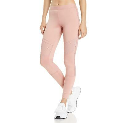 Adidas Stella McCartney Womens Pink Quick Dry Yoga Athletic Tights M BHFO 4897