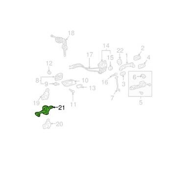68620-48031 Genuine Toyota Door Check Assembly