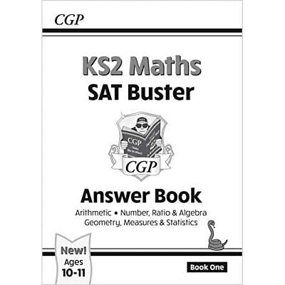 New KS2 Maths SAT Buster: Answer Book - for the 2016 SA - Paperback NEW CGP Book