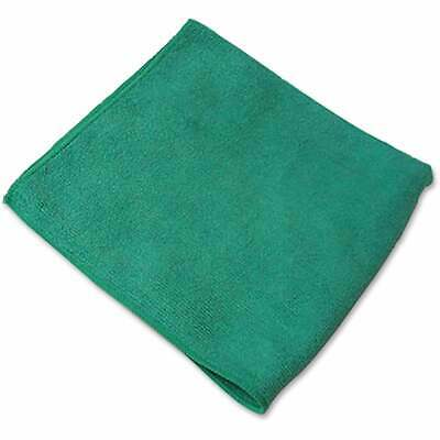 Genuine Joe General Purpose Green Microfiber Cloth (Pack of