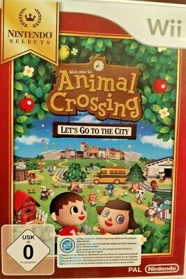 Animal Crossing: Lets Go to The City / Nintendo Selects Edition Wii - nur 1 Tag