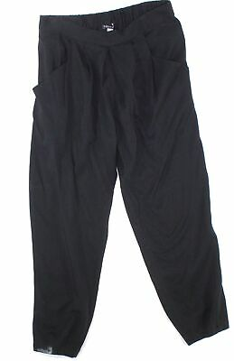 Eileen Fisher Womens Black Size Small S Pull On Ankle Pants Stretch $138- #586