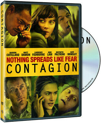 Contagion New Dvd