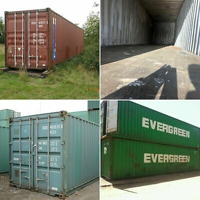 20ft & 40ft Used Wind & Watertight Shipping Containers *Charleston* Best Price!