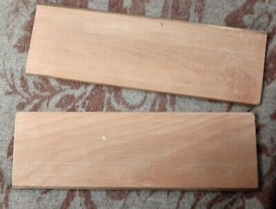 "Bookbinders Backing Boards, Beech, with Brass edges  12"" #1"